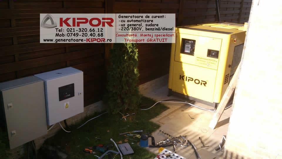 Generator Kipor KDE 35SS3