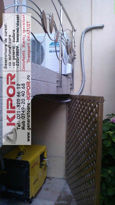 Generator de curent Kipor KDE 6700TA