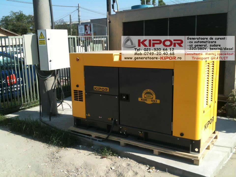 Generator Kipor KDE 60SS3