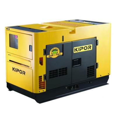 Generator de curent diesel cu automatizare Kipor KDE 20SS3