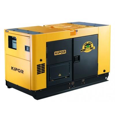 Generator de curent diesel cu automatizare Kipor KDE 60SS3