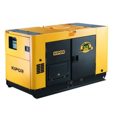 Generator de curent diesel cu automatizare Kipor KDE 75SS3