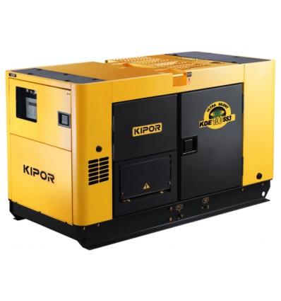 Generator de curent diesel cu automatizare Kipor KDE 100SS3
