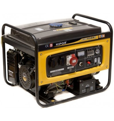 Generator de curent pe benzina Kipor KGE 6500E