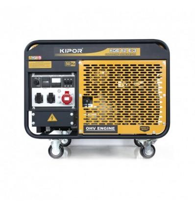 Generator de curent pe benzina Kipor KGE 12E3
