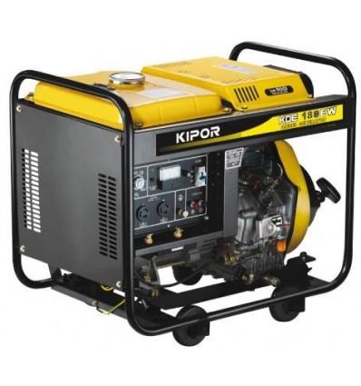 Generator de curent pentru sudare Kipor KDE 180XW