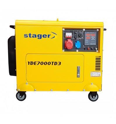 Generator de curent Stager YDE7000TD3 trifazat, diesel