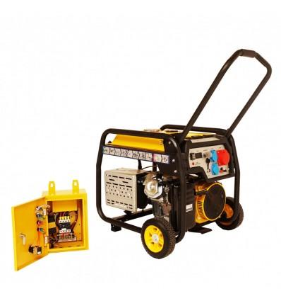 Generator de curent Stager FD 10000E3+ATS, open frame