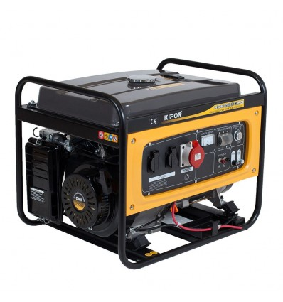 Generator de curent pe benzina Kipor KGE 6500E3