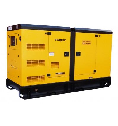 Generator de curent insonorizat Stager YDY100S3 trifazat