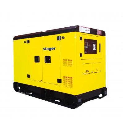 Generator de curent insonorizat Stager YDY385S3 trifazat